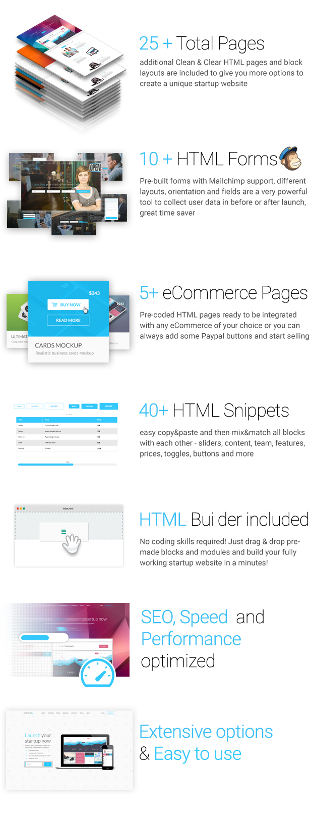 Startuply — Responsive Multi-Purpose Landing Page - 1